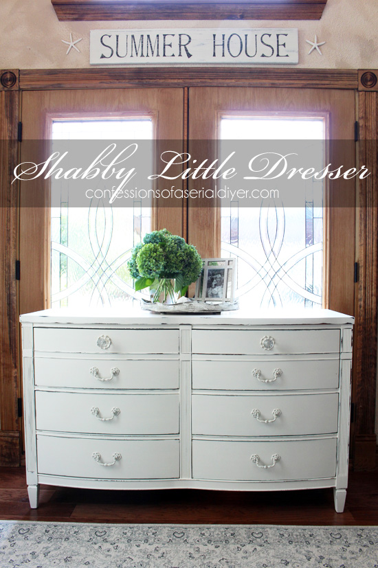 Shabby-Little-Dresser-