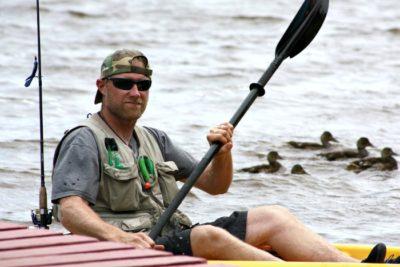 Bob at Twin Cedars Kayak fishing tournament