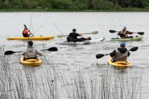 2nd Annual Kayak Bass Tournament at Twin Cedars Resort