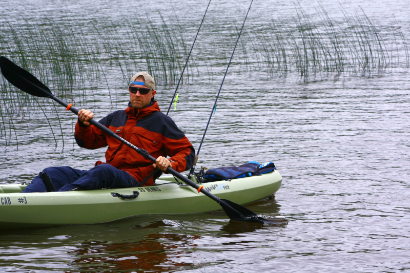 2nd annual kayak bass tournament at twin cedars resort