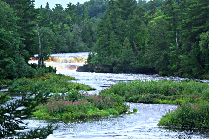 Tahquamenon Falls lower