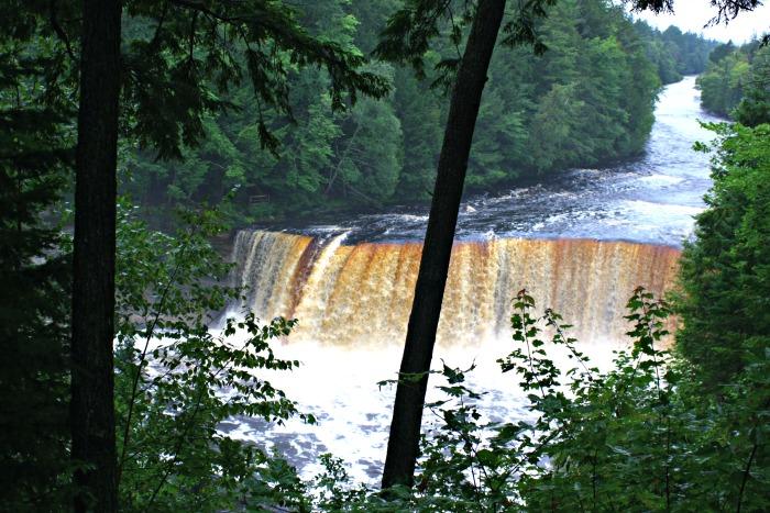 Upper Falls Tahquamenon Falls state park